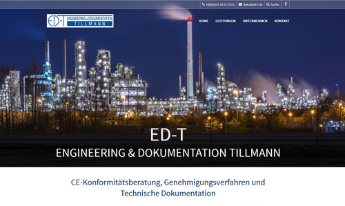 Website-Erstellung ED-T