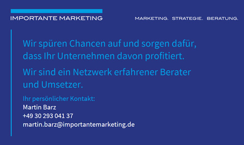 Website-Erstellung für Importante Marketing